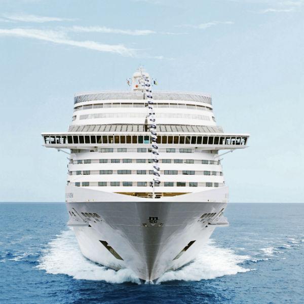 MSC0911385 Ship MSC Splendida GEMİ TURLARI