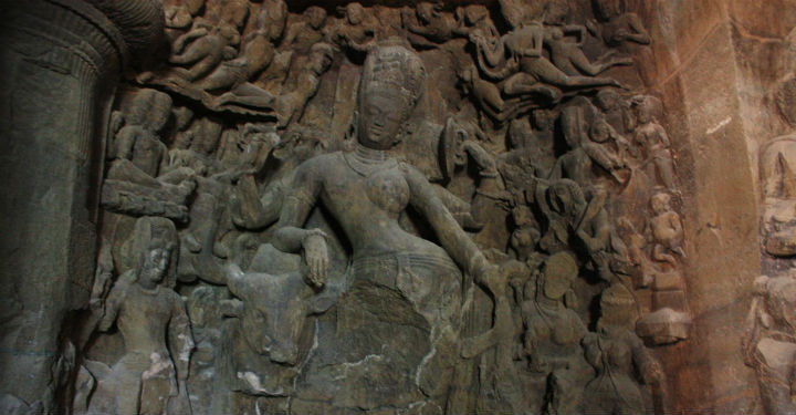 shiva at elephanta caves Güney Hindistan Turu Özel Program