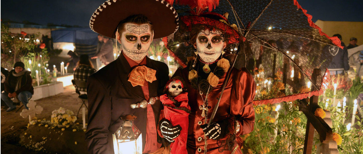 gettyimages 186641559 Meksika & Guatemala Turu Ölüler Günü Festivali
