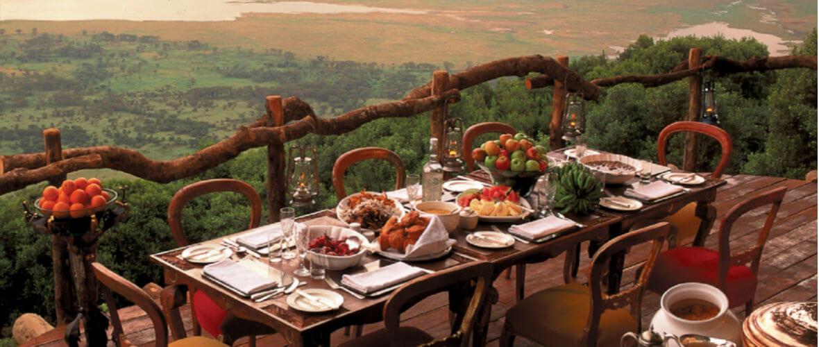 Ngorongoro Kenya & Tanzanya Safari Turu  Conde Nast Traveler