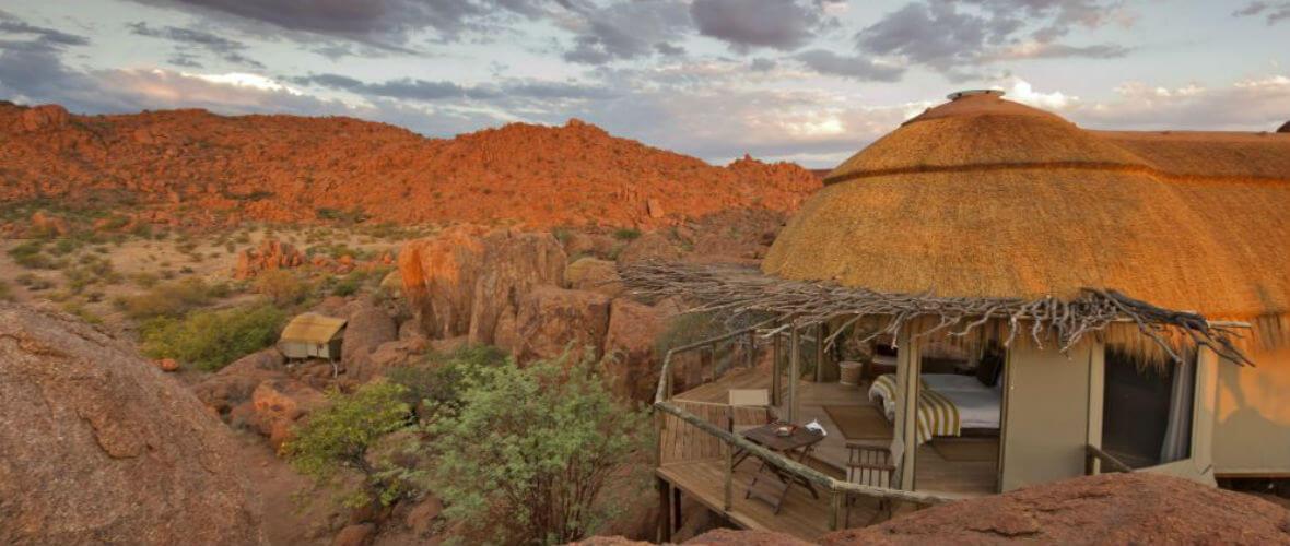 Namibya turu mowani lodge Büyüleyici ve Lüks Namibya  Turu
