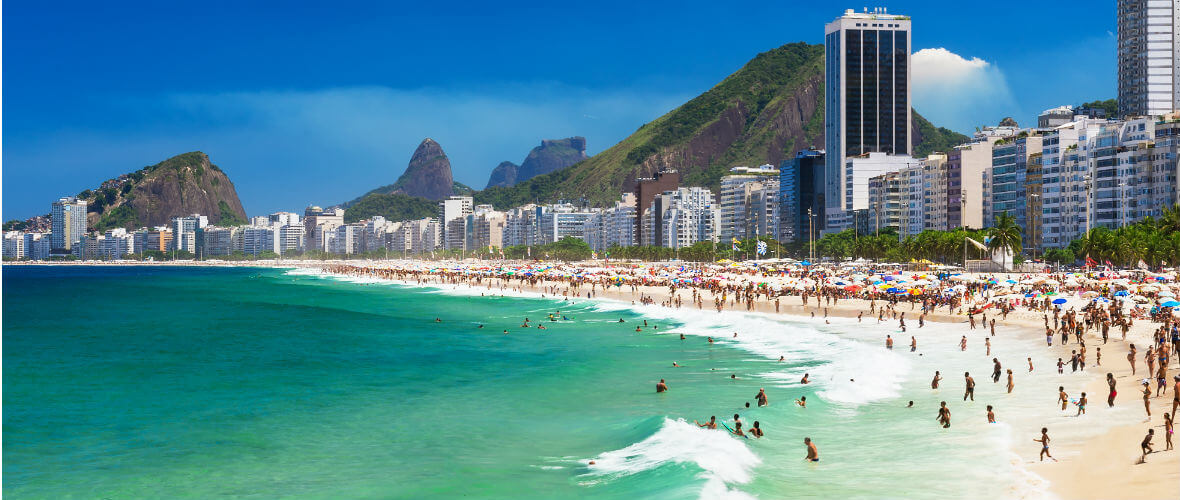 copacabana Brezilya & Arjantin & Şili Turu